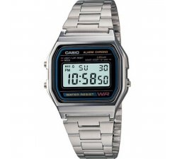 CASIO Vintage A158WA-1DF watch in Steel