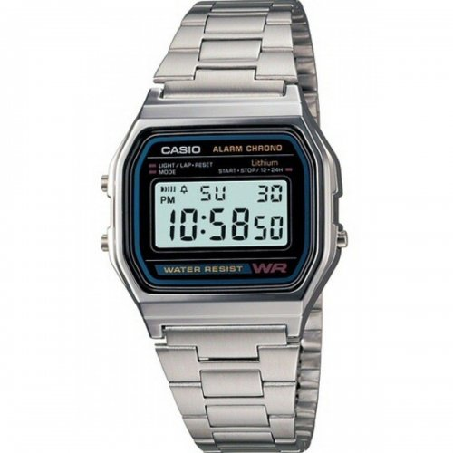 CASIO Vintage A158WA-1DF watch in Steel