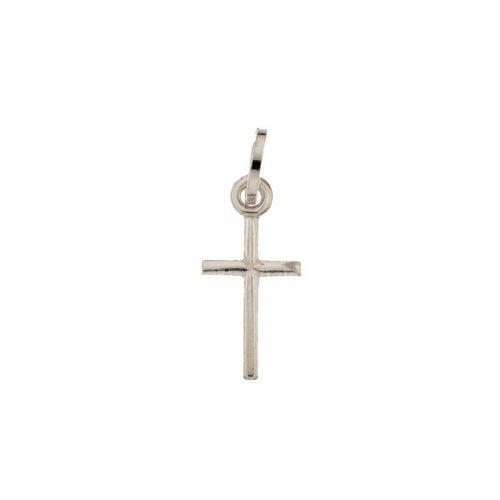 Croce in Oro Bianco 803321704348
