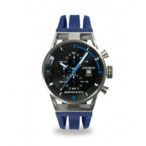 Orologio Locman Montecristo Cronografo Quarzo 051000BKFBL0GOB