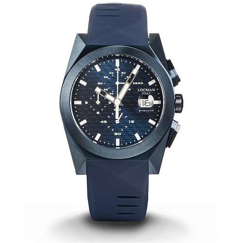 Orologio Locman Stealth Cronografo Quarzo 0812B02S-BLBLWHSB