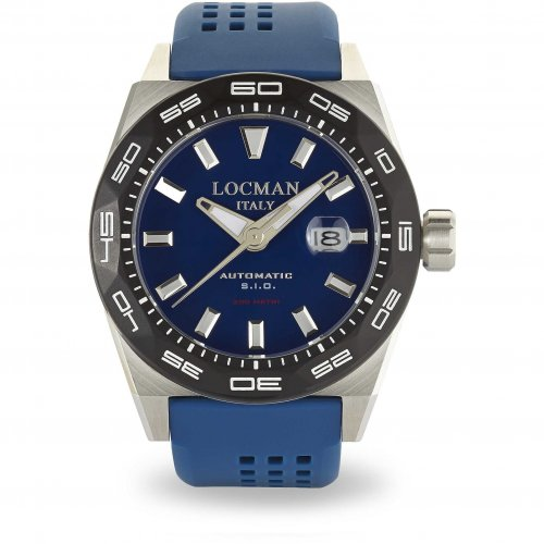 Locman Stealth 300MT Automatic Watch 0215V3-0KBLNKS2B