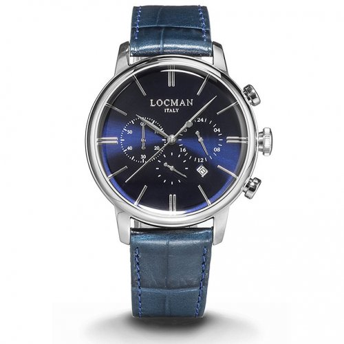 Locman Watch 1960 Collection Chronograph 0254A02A-00BLNKPB