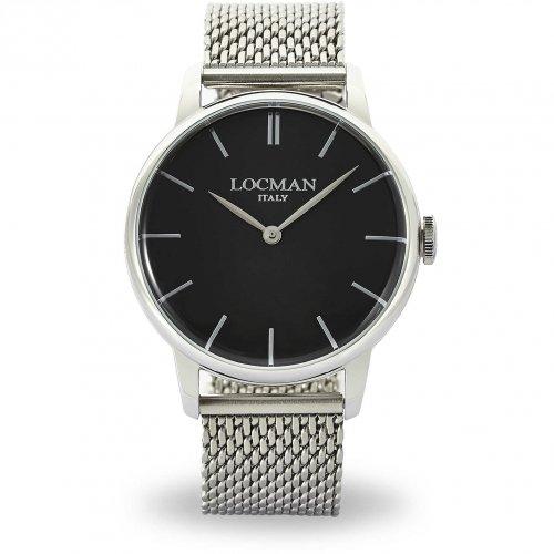 Orologio Locman Collezione 1960 Cronografo 0251V01-00BKNKB0