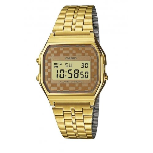 Orologio CASIO Unisex A159WGEA-9ADF Acciaio PVD oro dorato Vintage