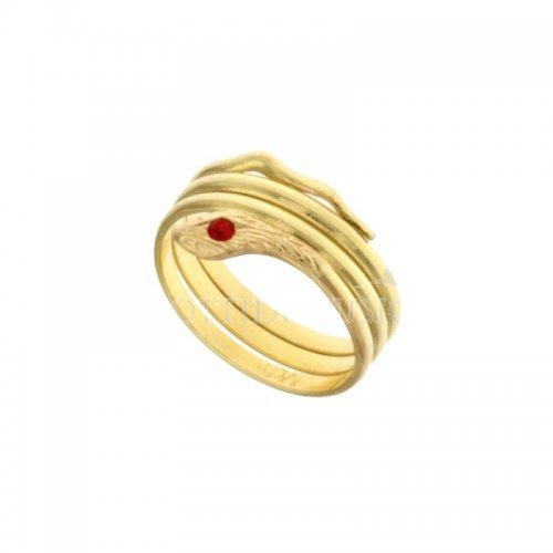 Anello serpente a 3 fili Oro Giallo 803321709024