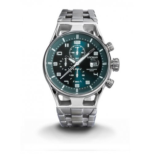 Orologio Locman Montecristo Cronografo Quarzo 0542A19S-00PTWHB0