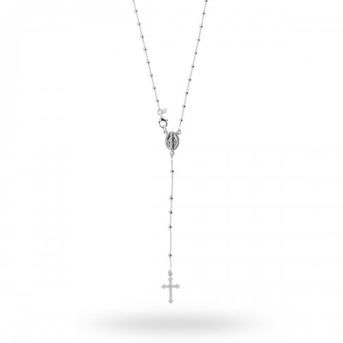 Collana Rosario in argento 925 45 cm 14623