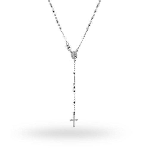 Collana Rosario in argento 925 45 cm 9735