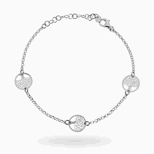 Bracciale donna albero della vita argento 925 18267