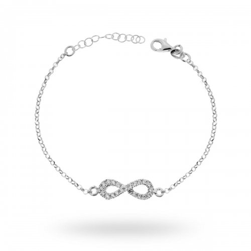 Bracciale donna infinito argento 925 13613