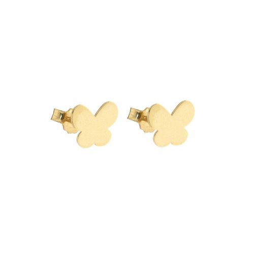 Orecchini donna farfalle Oro giallo 803321733436