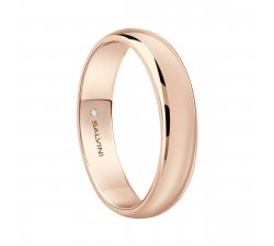 Salvini wedding ring Rose gold Special Day 20078182