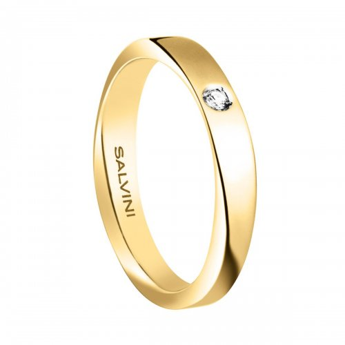Fede nuziale Salvini Oro giallo Diamante Infinity 20056380