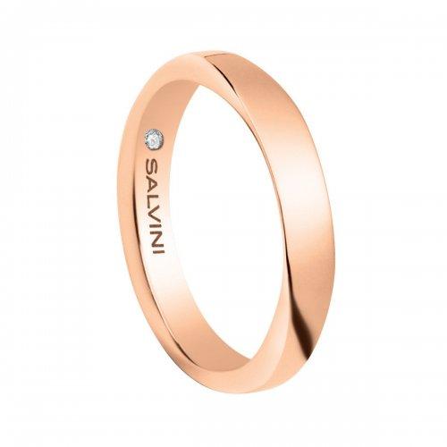 Fede nuziale Salvini Oro rosa Infinity 20054498
