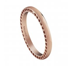 Salvini wedding ring Passion collection Rose gold 20082694