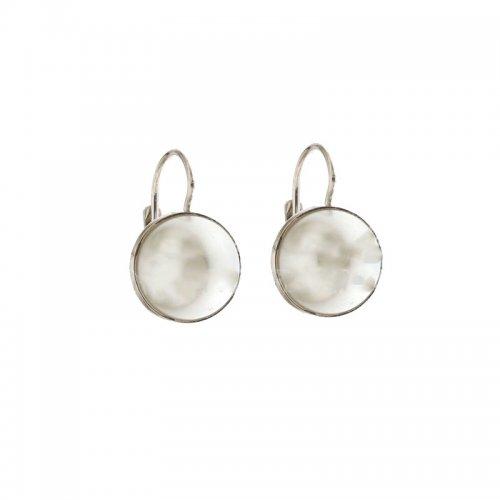 Orecchini Donna Oro bianco Perle 803321715887