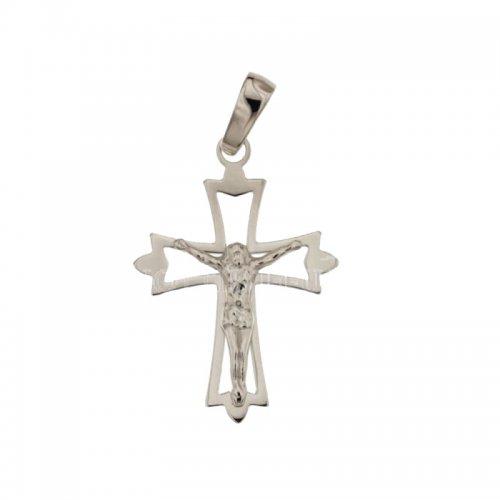 Croce Uomo in Oro Bianco 803321714003
