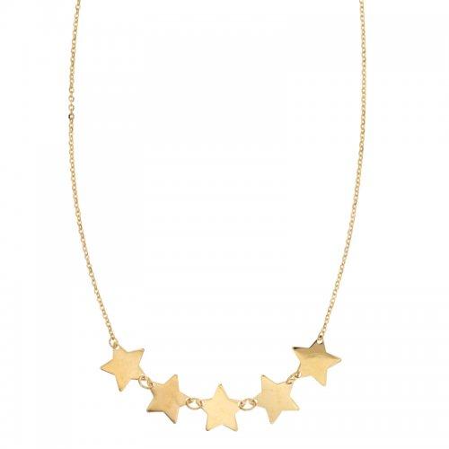 Collana Donna Stelle in Oro Giallo 803321736047