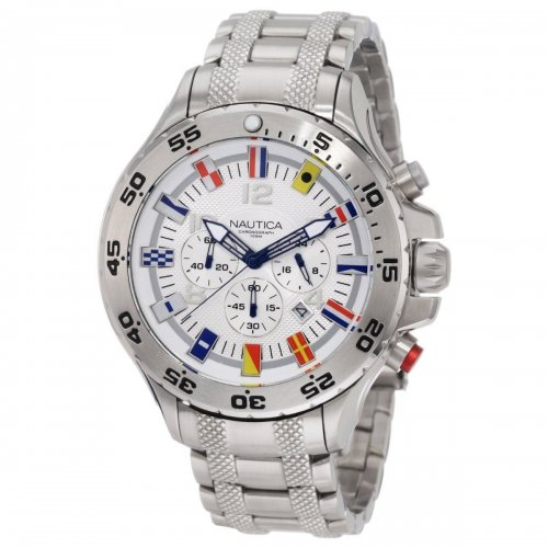 Nautical men's watch A29513G Bandierine Steel bracelet