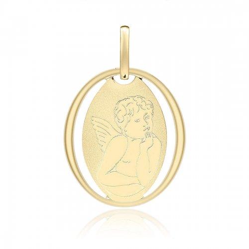 Ciondolo angelo oro giallo 803321714868