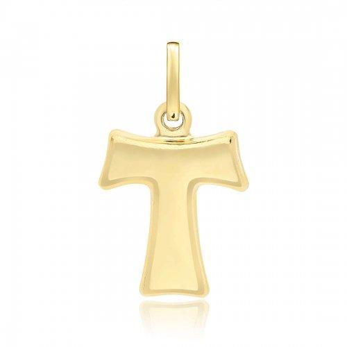Croce tau in Oro Giallo 803321700415