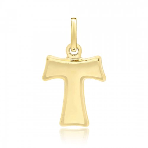 Yellow gold tau cross 803321700415