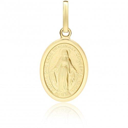 Ciondolo Madonna Miracolosa oro giallo 803321707034