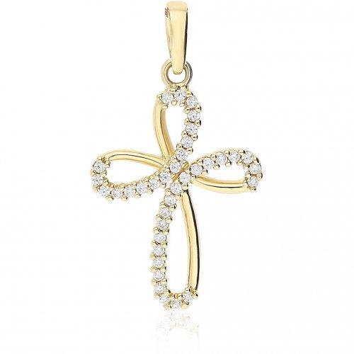 Croce da donna in Oro Giallo 803321725478