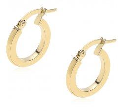 Women's Yellow Hoop Earrings 803321727715