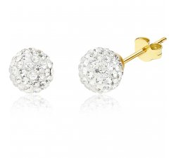 Women's earrings in Yellow Gold GL100008