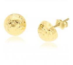 Women's earrings in Yellow Gold GL100009
