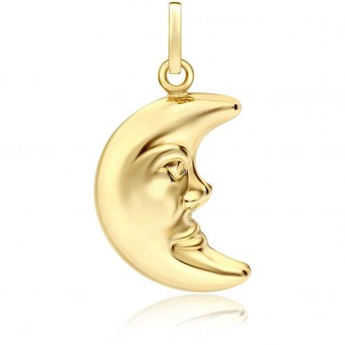 Ciondolo luna oro giallo 803321705518