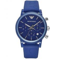 Orologio da polso Emporio Armani AR1058 cinturino blu gomma logato