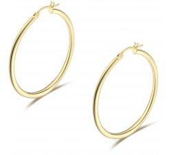Women's Hoop Earrings in Yellow Gold 803321735701