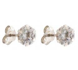 Women's White Gold Earrings 803321715954