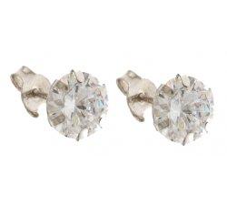 Orecchini Donna Oro Bianco 803321715956