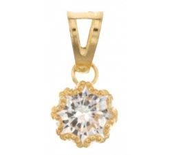 Women's pendant light point Yellow gold 803321729877