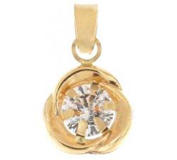 Women's pendant light point Yellow gold 803321737340