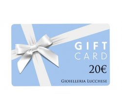 Buono regalo gift card 20€