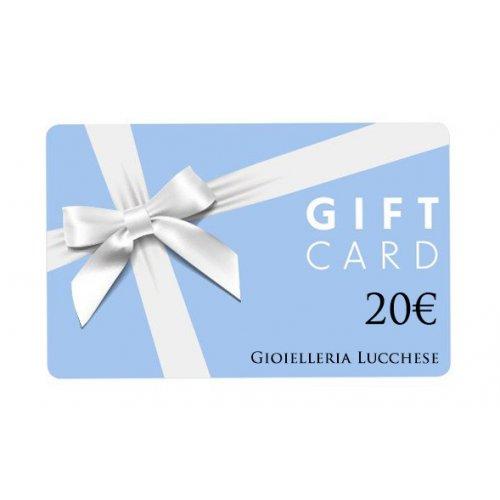 Buono regalo gift card 20€