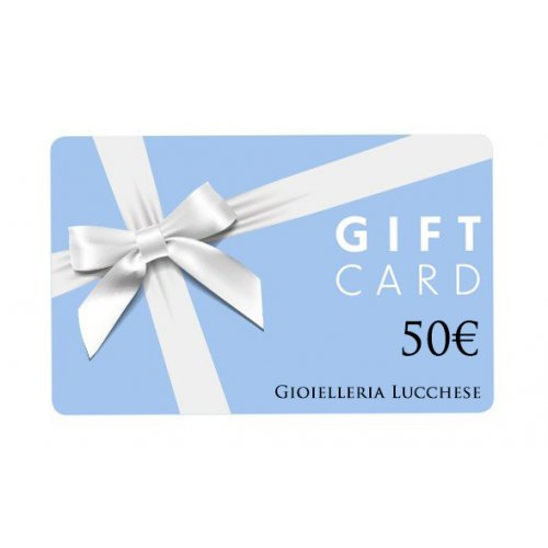 Buono regalo gift card 50€