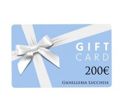 Buono regalo gift card 200€