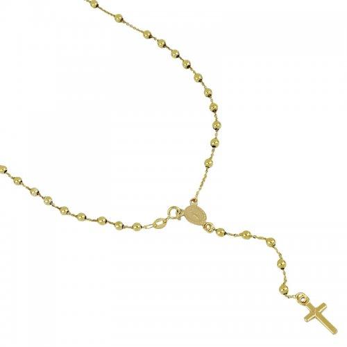 Collana Rosario Oro Giallo Madonna Miracolosa 803321716888