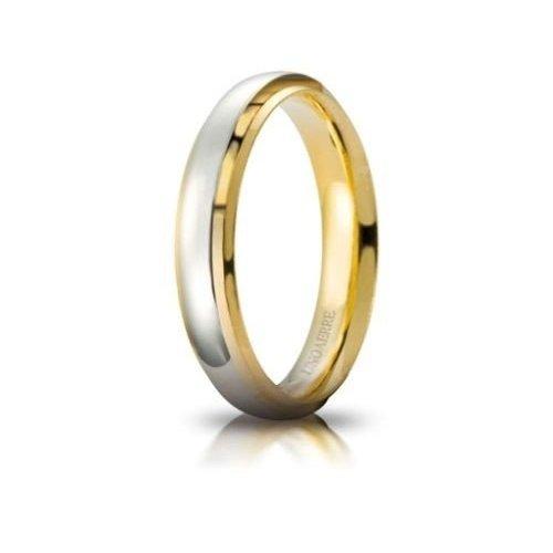 UNOAERRE Cassiopea Wedding Ring White Yellow Gold Brilliant Promises