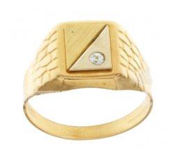 Yellow Gold Men's Ring 803321711968