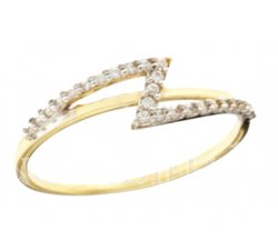 Yellow Gold Woman Ring 803321732041