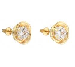 Yellow Gold Woman Earrings 803321737125