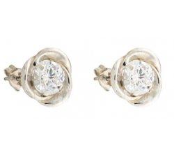 White Gold Woman Earrings 803321737363