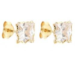 Women's Yellow Gold Earrings 803321707261